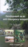 Development as an anti-Insurgency weapon - The Dhofar War