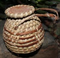 Körbchen rund mit Deckel