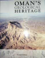 Oman's Geological Heritage