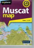 Muscat Map, Softcover braun, 1:16.000